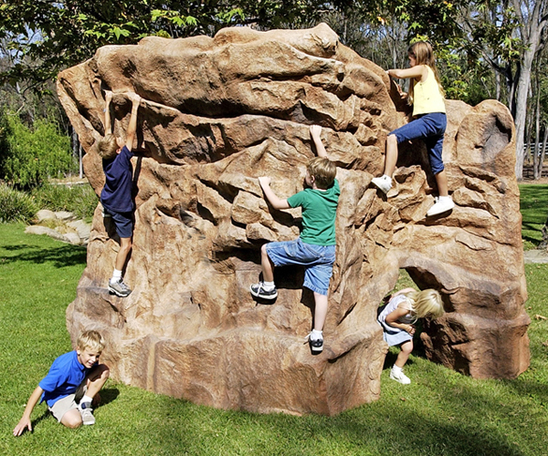 Playground boulders nicros for Large garden rocks for sale